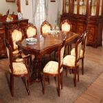 Деревянная мебель для столовой. Купить румынскую мебель в Украине стало проще и выгоднее