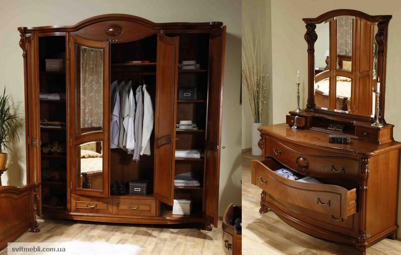 Мебель из натурального дерева румыния